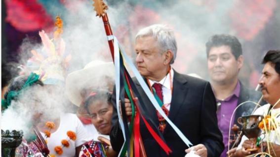 Presidente mexicano odeia a evangelização dos índios
