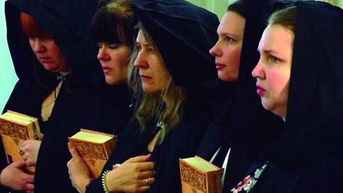 Central de malefícios satânicos na Rússia