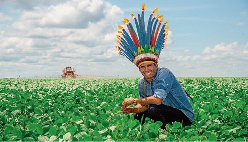 Índios Parecis plantam soja em Campo Novo do Parecis