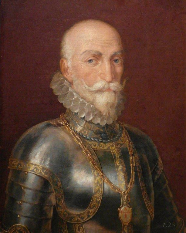 D. Álvaro Bazán, Marquês de Santa Cruz, resolveu levar a imagem de Nossa Senhora consigo em sua nau, para juntar-se às forças da Santa Liga, que venceram os muçulmanos na Batalha de Lepanto.