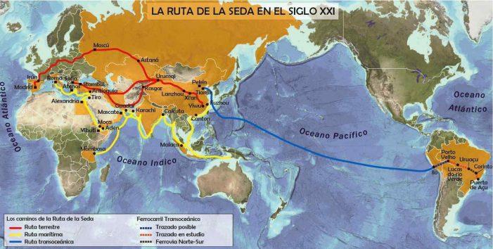 "A ""Rota da Seda"" e a ordem global maoísta"