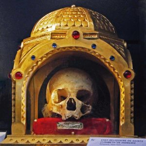 Crânio de Santa Isabel