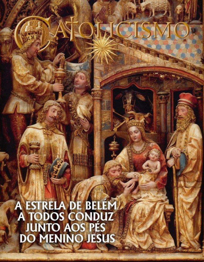 Os Reis Magos seguiram a estrela de Belém e encontraram o berço de Cristo