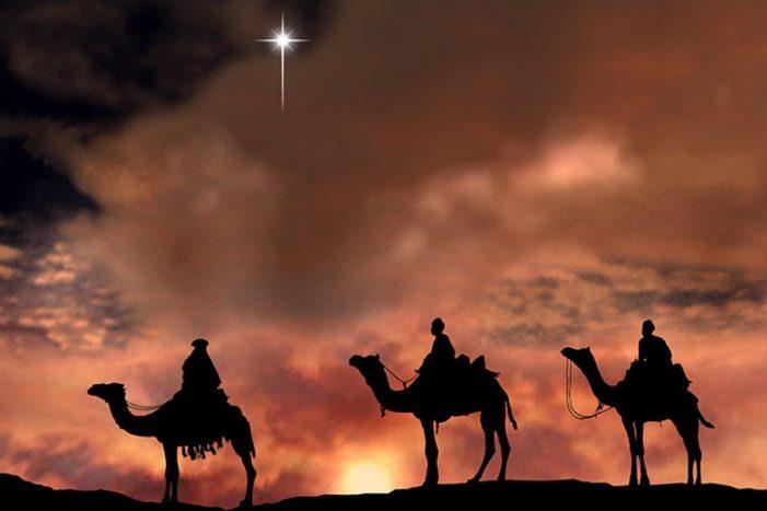 Os Reis Magos e a Estrela de Belém