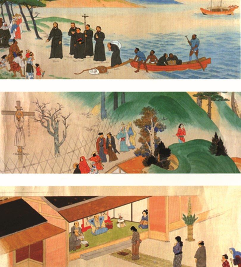 A história do Cristianismo no Japão inicia-se com a chegada de S. Francisco Xavier e seus companheiros. Depois vieram as perseguições e os martírios.