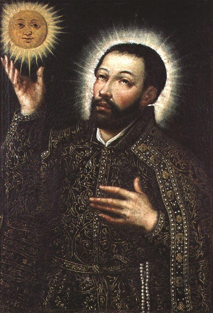 São Francisco Xavier – Manuel Henriques, (séc. XVI) – Sé Nova, Coimbra
