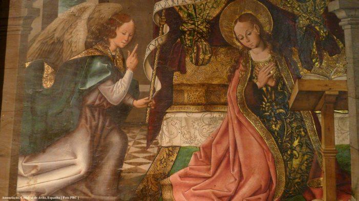 Virgem Maria, Anunciação e Cortesia