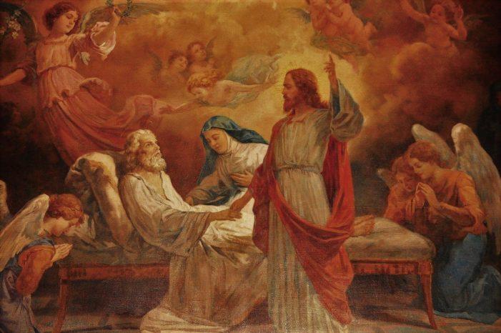São José, Padroeiro da boa morte