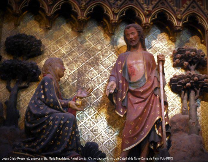 Na Igreja Católica repete-se a Paixão de Nosso Senhor