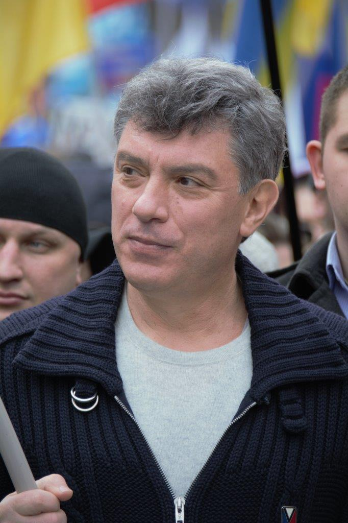 Uma praça de Praga homenageia um opositor de Putin