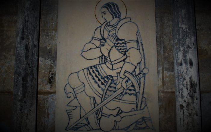 Santa Joana d'Arc: a França de espada na mão