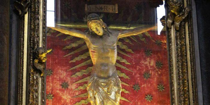 O Cristo Milagroso que extinguiu a epidemia