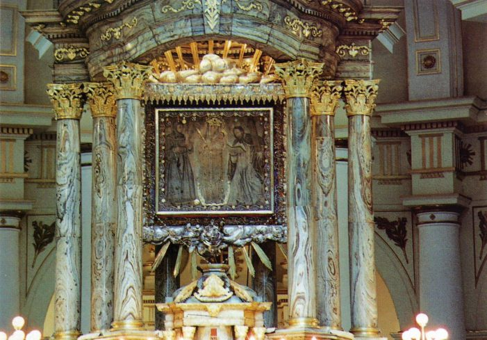 Em Chiquinquirá, a Santíssima Virgem ressalta a luz primordial da Colômbia