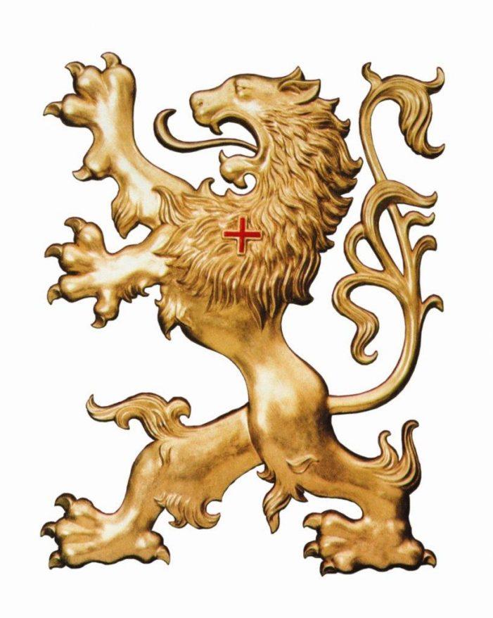 O charme grandioso do leão heráldico da TFP