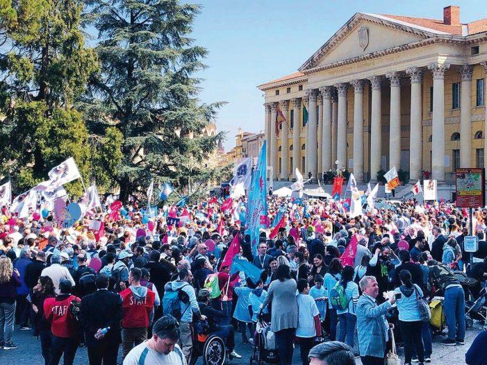 Na Itália, o espectro de uma ditadura LGBTQ