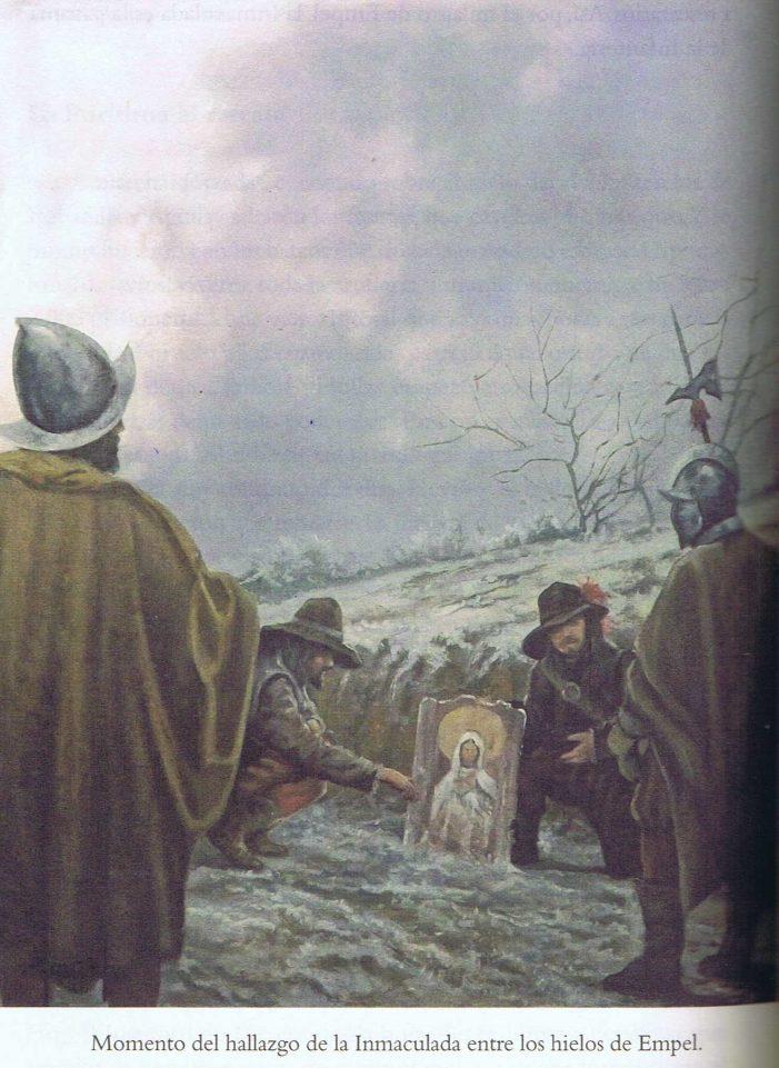 Milagres da Virgem para a vitória sobre os hereges