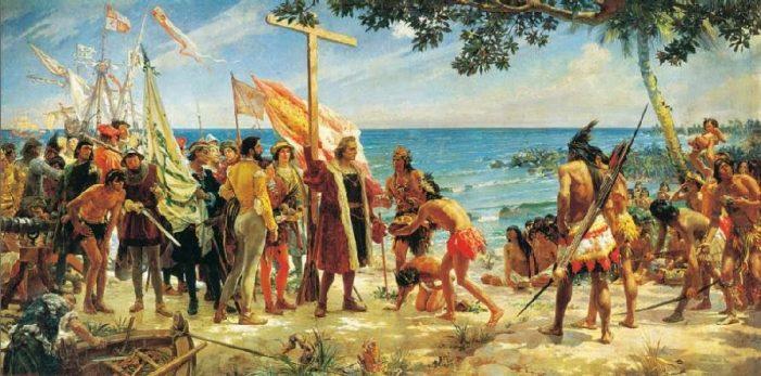 Há 528 anos as naus de Colombo aportaram na América…