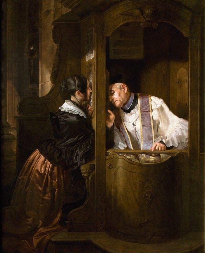 Posso me confessar com um sacerdote por telefone ou e-mail?
