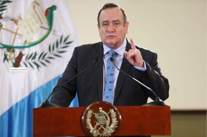 Presidente da Guatemala veta organização abortista no país