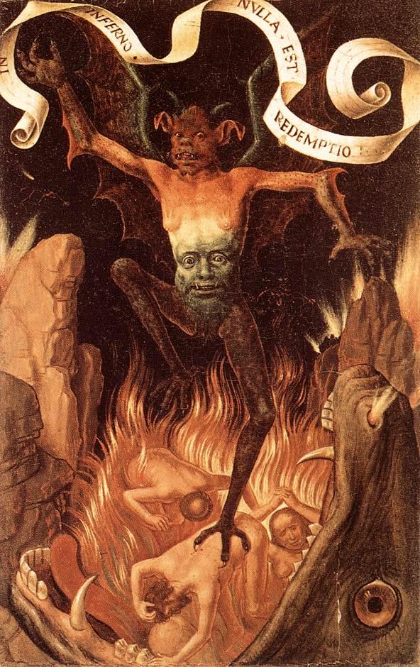 A eternidade do inferno é terrível, mas justa