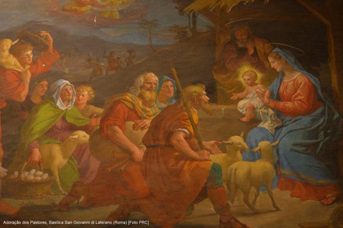 Presépio idolátrico de Francisco oposto ao de São Francisco