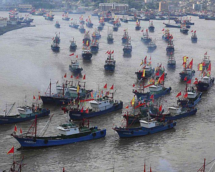 China saqueia recursos pesqueiros sul-americanos