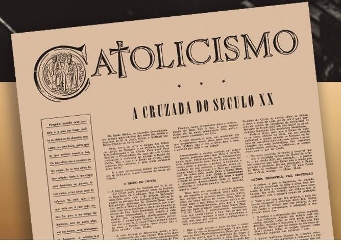 CATOLICISMO — 70 anos em prol da ortodoxia católica