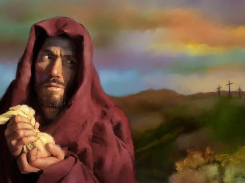 Papa Francisco e sua pintura obscena de Judas