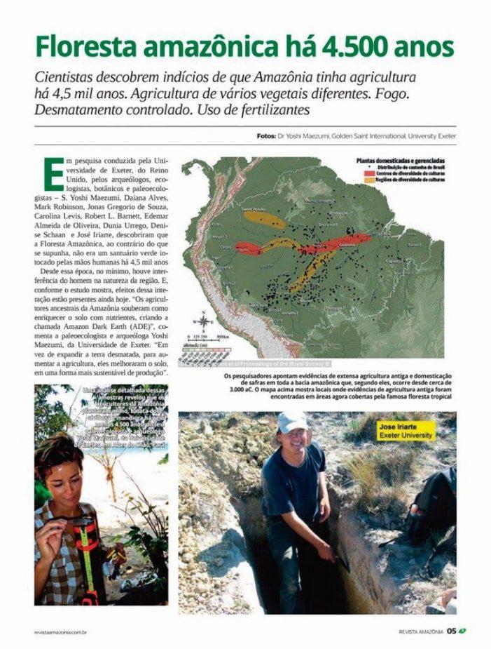 Civilizações perdidas na floresta amazônica