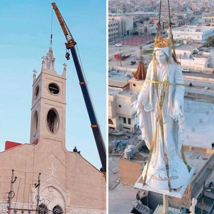A Imaculada Conceição vitoriosa sobre o Estado Islâmico