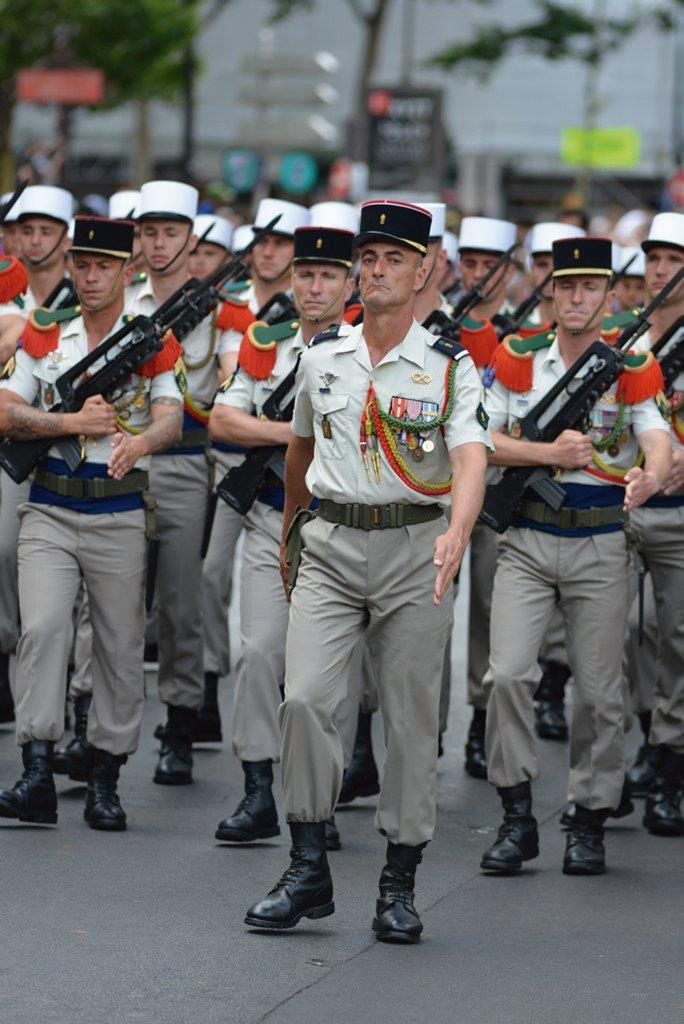 Persistente atrativo da Legião Estrangeira