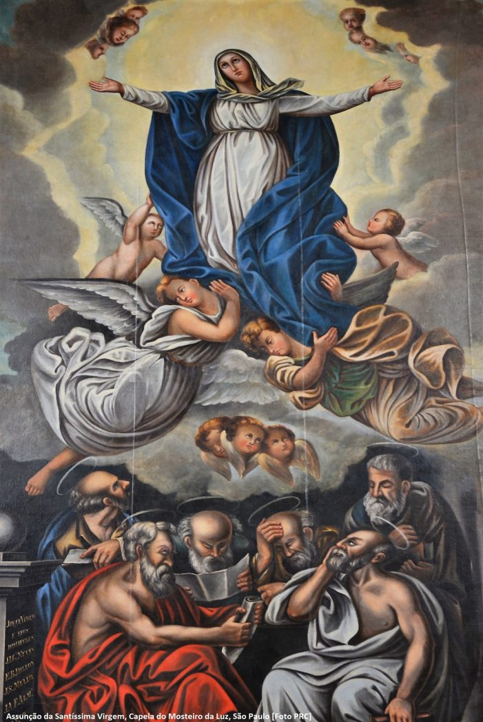 A maravilhosa Assunção de Nossa Senhora