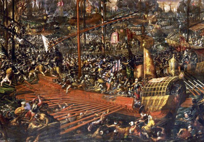 BATALHA DE LEPANTO — 450 anos da vitória da Cruz contra o Crescente